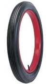 "30x3-1/2 (23"" rim) Universal Clincher Ribbed Tread Blackwall"
