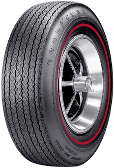 "F70-14 Goodyear CWT.350"" Red Stripe"