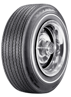 "F70-14 Goodyear CWT .350"" White Stripe"