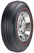"775-15 Goodyear Power Cushion Redline .350"" R/S '67 only"