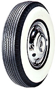 "710-15 Goodyear Super Cushion 4-1/4"" Whitewall"