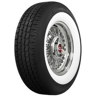"195/75R15 American Classic 2-1/4"" Whitewall"