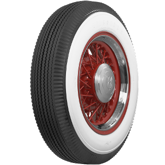 "600-16 Firestone 3-1/4"" Whitewall"