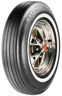 "695-14 Goodyear 7/8"" Whitewall"