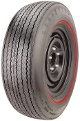 G70-15 Goodyear 2/2 Polyglas GT .350 Red Stripe