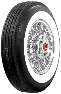 "650-13 US Royal 1-7/8"" Whitewall"