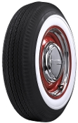 "640-15 Firestone 2-1/8"" Whitewall"