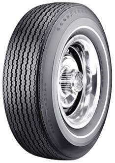 "F70-15 Goodyear SWT NF .350"" White Stripe"