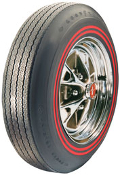 695-14 Goodyear 3/8 Dual Red Stripe (NOS)