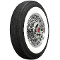 "670R15 American Classic 2-3/4"" Whitewall Radial"